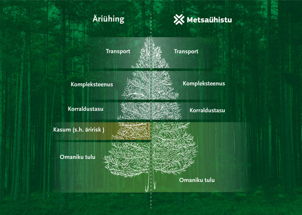 Äriühing vs Metsaühistu. Majandame su metsa vastutustundlikult